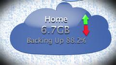 4K Cloud Servers 28 Stock Footage