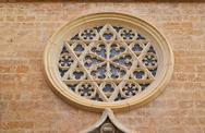 Stock Photo of Valencia, Spain, facade of the Cathedral Church.