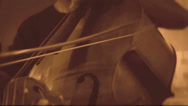 Stock Video Footage of Mellow tones of the double-bass musical instrument (Part 7 of 8)