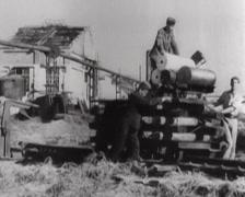 WW2 - German Railway Gun - K5E - 02 Stock Footage