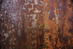 Corrosion Rusty metal surface Stock Photos