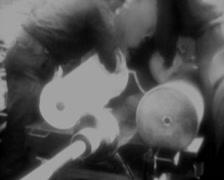 WW2 - German Railway Gun - K5E - 04 Stock Footage