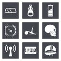 Stock Illustration of Icons for Web Design and Mobile Applications