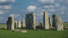 Stonehenge 4K 3 - stock footage