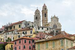 San bartolomeo al mare (liguria) Stock Photos