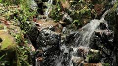 Zen Waterfalls in Nature Stock Footage
