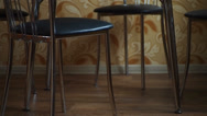 Stock Video Footage of chairs and table