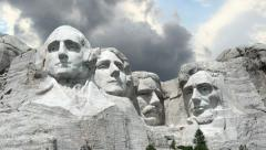 Mount Rushmore Timelapse 1 - stock footage