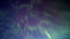 Northern lights sky Stock Footage