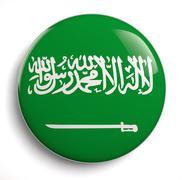 Saudi flag - stock illustration