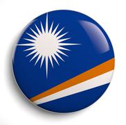 Stock Illustration of Marshall Islands flag
