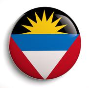 Antigua flag - stock illustration