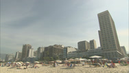 Stock Video Footage of Ipanema beach, Rio WITH AUDIO