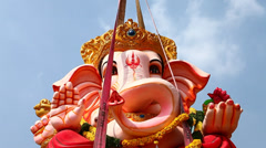 Lard Ganesha Stock Footage