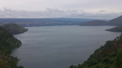 Lake Toba, North Sumatra, Indonesia. - stock footage