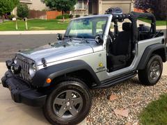 Jeep Wrangler - stock photo