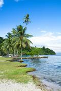 kioa island fiji - stock photo