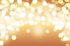 Brown bokeh abstract light background Stock Photos