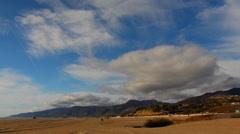 4K Malibu Beach Los Angeles Timelapse Stock Footage