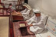 Stock Photo of ancient islamic school, heritage village in dubai
