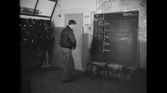 WW2 - US Air Force - Attack Planning 01 Stock Footage
