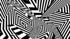Razzle dazzle camouflage animated Stock Footage
