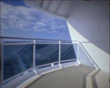 SUPER8 cruise ship MSC Fantasia 1 Stock Footage
