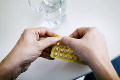 hormone replacement therapy - stock photo