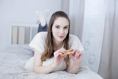 Contraceptive pill Stock Photos