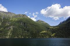 Fjord in norway Stock Photos