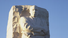 Martin Luther King, Jr. Monument Stock Footage