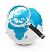 World analysis Stock Illustration