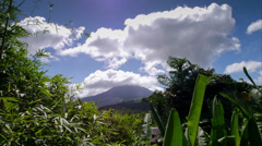 Time Lapse Video of Arenal Volcano in Costa Rica Stock Footage