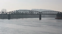 Bridge river HD Stock Footage