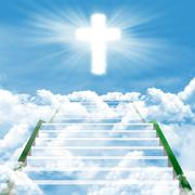 stairway to heaven - stock illustration