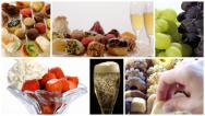 Stock Video Footage of diverse desserts collage