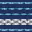 Stock Illustration of seamless knitted pattern with blue white stripes