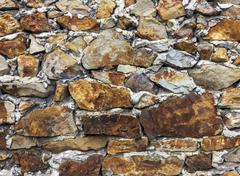 background of old stone wall - stock photo
