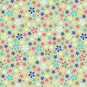 Stock Illustration of flower seamless color pattern