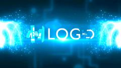 Light Streaks Logo Reveal Intros Light Particles Stingers Animation 2 - stock after effects