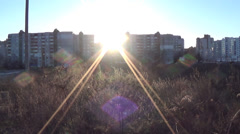 Ukraine, outskirts of the city of Chernigov Stock Footage