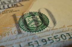 Symbolics 100 dollar note Stock Photos