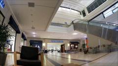 Nordstroms mall storefront entrance Stock Footage