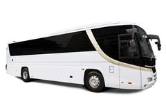 bus travel - stock photo