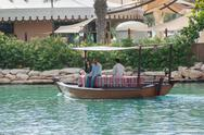 Stock Photo of views of madinat jumeirah hotel