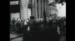 WW2 - Patton 04 Stock Footage