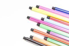 Felt-tip pens Stock Photos