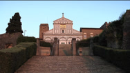 Stock Video Footage of San Miniato Church in Florence
