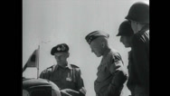 Stock Video Footage of WW2 - Patton 08 - Talking To Commander