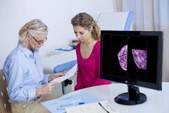 Gynecology consultation Stock Photos